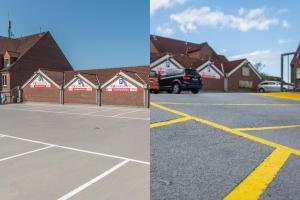 Bodenbeschichtung Parkplatz