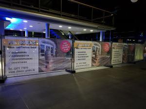 Modernisierungsarbeiten Burger King Bremerhaven